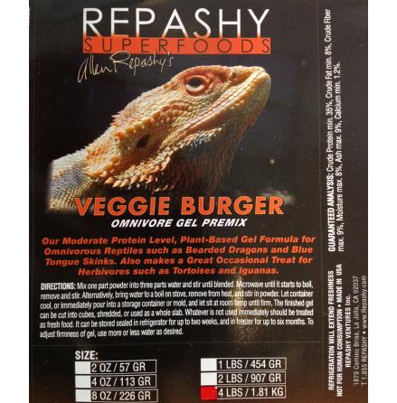 Veggie Burger 84 gr