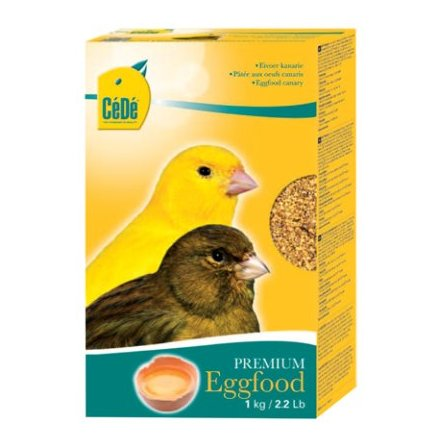 CEDE ÄGGFODER 1KG EGGFOOD KANARIES