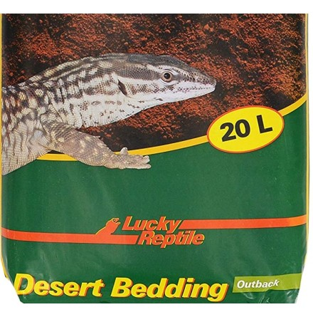 Desert Bedding Röd 20 l